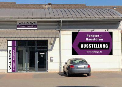 Ausstellung Fenster + Haustüren Vallo-Sys